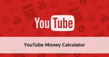 YouTube Money Calculator (earnings estimator)
